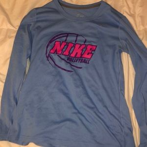 Nike dry- fit volleyball shirt